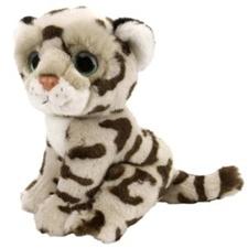 """7"""" Wild Republic Wild Watch Leopard Snow"""