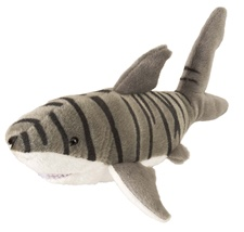"10"" Wild Republic Cuddlekins-Mini Shark Tiger 10884"