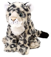 "12"" Wild Republic Cuddlekins Snow Leopard Baby"