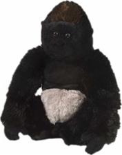 "12"" Wild Republic Cuddlekins Gorilla Silverback"