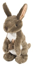 "12"" Wild Republic Cuddlekins Kangaroo with Joey"