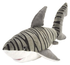 "15"" Wild Republic Cuddlekins Tiger Shark 10954"