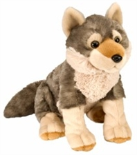Wild Republic Cuddlekins Wolf 12 inch stuffed animal