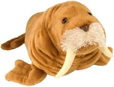 "15"" Wild Republic Cuddlekins Walrus"