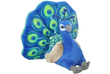 "Wild Republic Mini Peacock 8"""