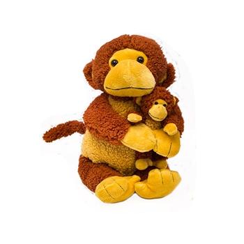 """20"""" & 8"""" World's Softest """"Mango"""" Monkey Bundle"""
