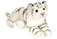 """Wild Republic Laying 12"""" White Tiger 12266"""