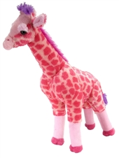 "Wild Republic Pink Giraffe 25"""