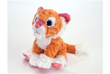 "Wild Republic 8"" Sweet & Sassy Tiger Tangerine 13509"