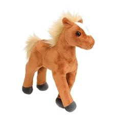 Mini Standing Brown Foal Horse Stuffed Animal