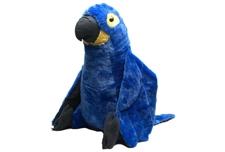 """Wild Republic 30"""" Jumbo Macaw Hyacinth 17093"""