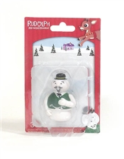 Rudolph The Red-Nosed Reindeer - Sam the Snowman Figurine 2.5