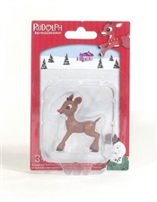 Rudolph The Red-Nosed Reindeer - Rudolph Figurine 2.5