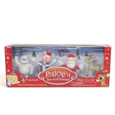 Rudolph The Red-Nosed Reindeer 4 Pack - Clarice