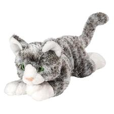 "Wild Republic Cat Floppy Grey Tiger 7"""