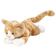 "Wild Republic Cat Floppy Orange Tabby 7"""