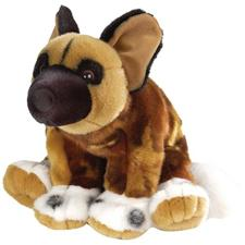 "Wild Republic Cuddlekins African Wild Dog 12"" (discontinued)"