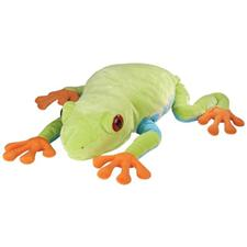 "Wild Republic Cuddlekins 30"" Jumbo Red-Eyed Tree Frog"