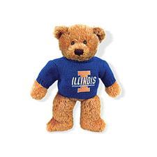 Plushland Illinois Sweater Bear