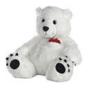 "Aurora 14.5"" Buddha Belly Polar Bear"