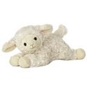 Sweet Cream Lamb Stuffed Animal