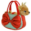 "Aurora 7"" Jolly Reindeer Pet Carrier"