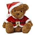 """Aurora 11.5"""" Wagner Santa Bear"""