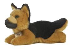 Aurora 8 inch stuffed animal GERMAN SHEPHERD DOG