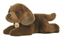 Aurora Stuffed Animals BROWN LAB DOG