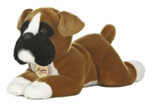 Aurora Stuffed Animals BOXER DOG