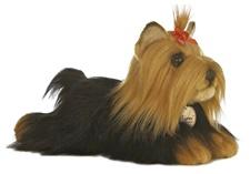 Aurora Stuffed Animals YORKSHIRE TERRIER DOG