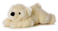 """Aurora 12"""" Slushy Polar Bear"""