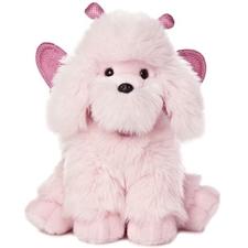Aurora 10 inch Poodikins Pink Poodle Stuffed Animal
