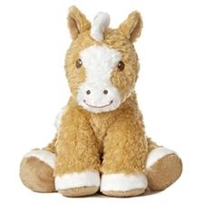 Cute Sitting Horse Plush Toy