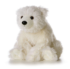 "Aurora 12"" Iceberg Small Polar Bear"
