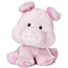 Aurora Wobbly Bobblees Pig Stuffed Animal