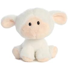 Lamb Plush Toy - Wobbly Bobblees Lambsy