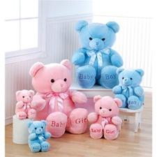 "Aurora 18"" Comfy Bear - blue (medium)"