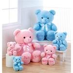 """Aurora 10"""" Comfy Pink Bear"""
