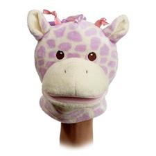 "Aurora 6"" Giggles Giraffe Tag Along Puppet"