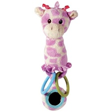 "Aurora 8"" Giggles Giraffe Activity Rattle"