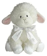 Musical Lamb Stuffed Animal - Jesus Loves Me Lamb