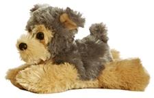 Aurora 8 inch stuffed animal CUTIE DOG Yorkie