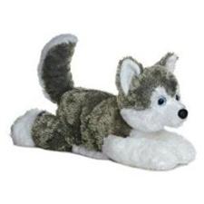 Aurora 12 inch stuffed animal Shadow Husky