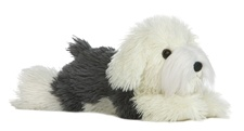 Aurora 12 inch stuffed animal Edwin Sheepdog