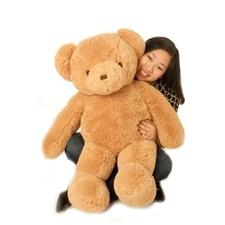 """Beverly Hills Teddy Bear Deluxe 36"""" Honey Belvedere Bear - Jumbo"""