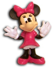 "Disney Minnie Mouse Figurine 2.5"" DCF10022"