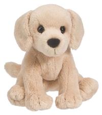 Mini Stuffed Animal Butter Yellow Lab Dog