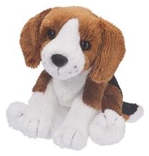 Mini Stuffed Animal Sniff Beagle Dog