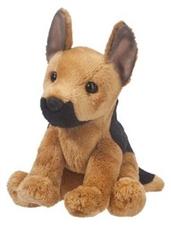 Mini Stuffed Animal Prince German Shepherd Dog